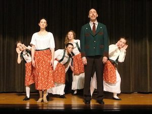 Sound of Music - Cara Grieco, John Martin, and the Children