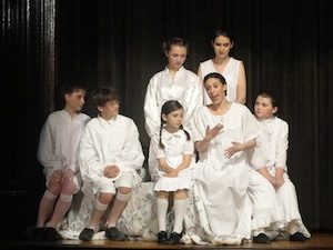 Sound of Music - Cara Grieco and the Children